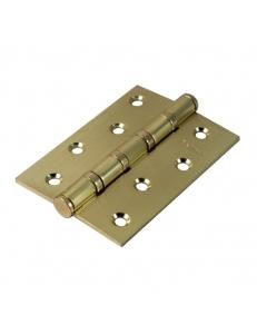 Петля стальная универсальная с 4-мя подшипниками, матовое золото