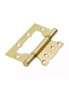 Петля стальная универсальная с 2-мя подшипниками, без врезки, матовое золото