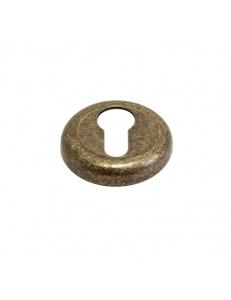 Накладка на цилиндр круглая, состаренная бронза