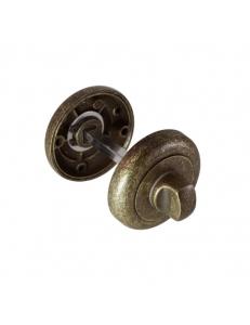 Завертка круглая, состаренная бронза