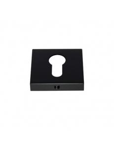 Накладка на цилиндр квадратная, черный
