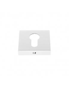 Накладка на цилиндр квадратная, белый
