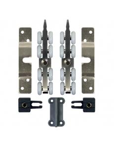 Комплект роликов для двери весом до 70кг 8-колесный комплект