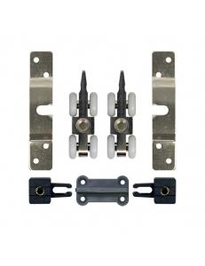 Комплект роликов для двери весом до 50кг 4-колесный комплект