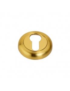 Накладка на цилиндр, матовое золото