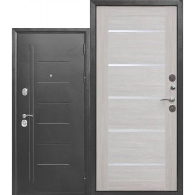 Входная дверь Троя Серебро Лиственница беж.
