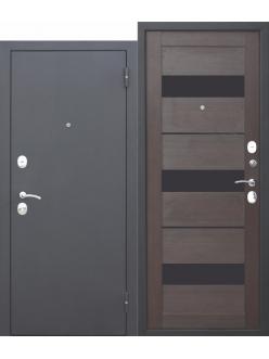 Входная дверь Garda МУАР ЦАРГА 22 мм Темный кипарис